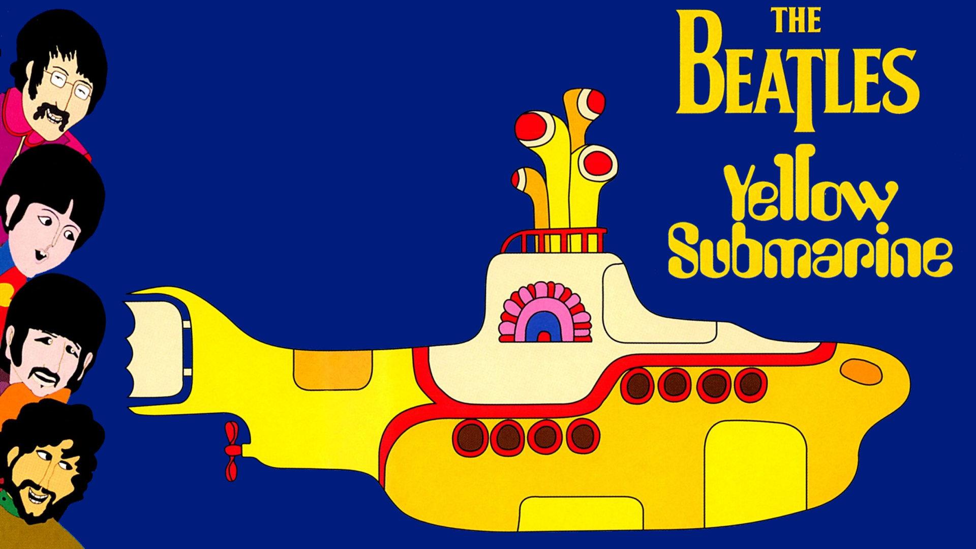 битлз желтая подводная лодка картинки